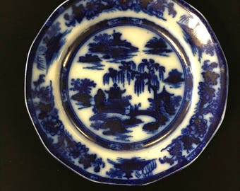 Heavy Flow Blue Dish