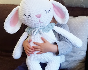 Amigurumi Häkel  Anleitung Hase Mia (German/English/Turkish/ Spanish) PDF
