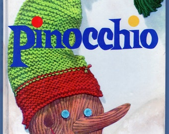 Pinocchio Illustrated by Lois Lenski 1946 Hardcover Book