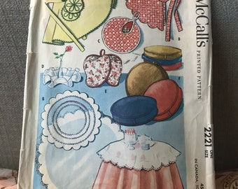 Vintage 50s McCall's 2221 Home Decor Patterns