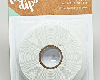 KaiserCraft Lucky Dip Supply Collection -- Foam Tape Roll - Double Sided