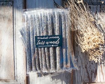 Wedding Send off, Lavender Wedding Petal Toss - Confetti Alternative - Plain and Simple - 25 tubes