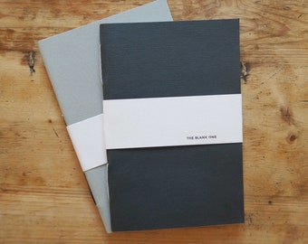 The blank one, notebook, sketchbook, journal