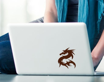 Chinese Dragon vinyl decal, Laptop, Computer, Ipad, Macbook, Apple, sticker
