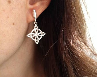 Sterling Silver 925 Celtic knot of love Vikings Nordic Ancient Jewelry