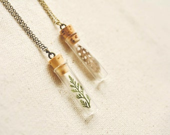 flora + fauna necklaces.