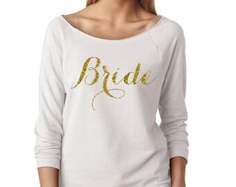 Bride Shirt // Mrs Sweatshirt // Bridal Shower Gift // Wedding // Bride Shirt // Bachelorette Gift // Bridal Shirt // Sloucy Oversized