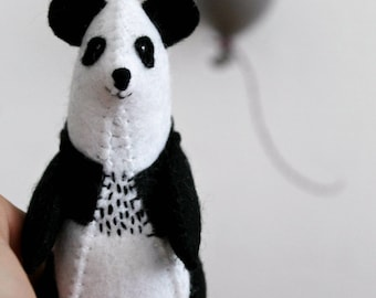 Felt Panda Plush