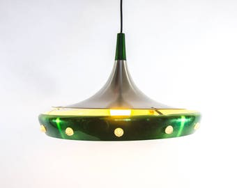 Space-age pendant lamp