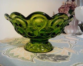 Moon and Stars Candle Holder/Bowl dist. By L. E. Smith circa 1960's