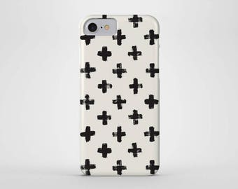 Cross Phone Case - iPhone and Samsung Galaxy Cases - Crosses, Cross Pattern (All Sizes)