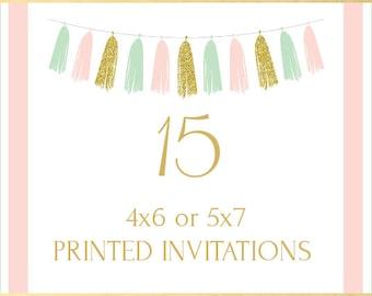 Printing Service, 15 Invitations
