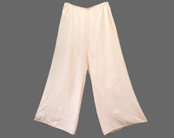 SALE - 1930s Rayon Lounge Pants, Size Small - 40% OFF