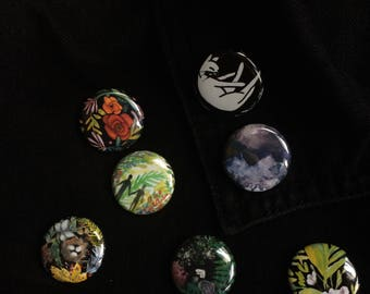 Variety Pinback Buttons