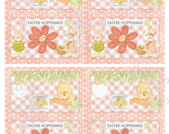 Printable Digital Easter Bag Toppers
