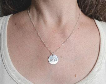 Granny Charm Necklace