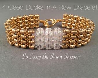 4Ceed Ducks in a Row Bracelet Tutorial