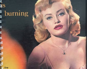 for the Torch is Burning / Lounge 50s PIN UP Cheescake Kitsch  fan Vinyl / Album Cover Notebook