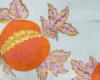 """Raoul Textiles """"Eve"""" Hand Printed Linen Drapery Panels"""