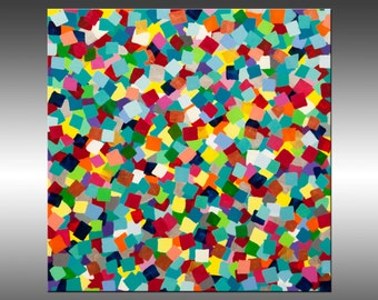 Fascination 6 - Original Abstract Painting, Original Painting, Abstract Art, Canvas Wall Art, Modern Art, Modern Painting, Paintings