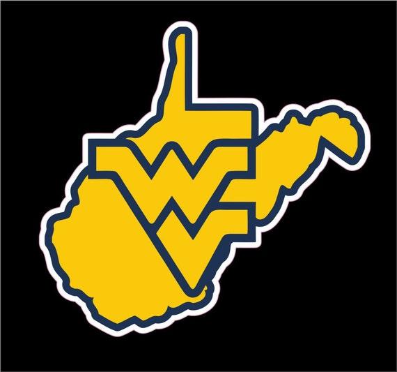 New West Virginia University Decal WVU Mountaineers Sticker IB26