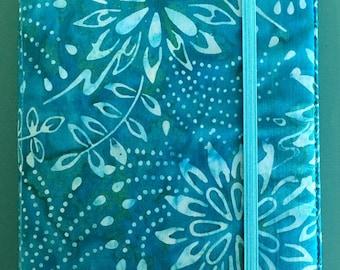 Teal Floral Kindle Paperwhite Case, Teal Kindle Cover, Turquoise Kindle Case, Green Kindle Case, Kindle Paperwhite Case