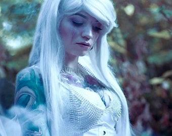 Austrian Crystal Bra Rhinestone Chain Lingerie Festival Bralette Body Jewelry Burlesque Showgirl Bridal Rave Concert