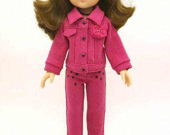 Pinked Pink Look SS18 Amigas Mali Doll