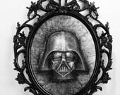 Goth Vader in Carbonite *...