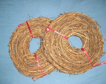 Natural Grapevine Garland, 120 Feet of Vine Garland, 8 Rolls of 15 Feet in each Roll,