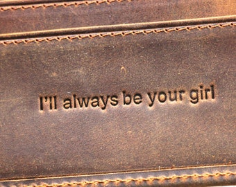 Father's Day Gift; Personalized Leather Wallet; Father Gift; Dad Gift; Gift for Him; Personalized Gift; Men's Wallet; Daddy Gift; Gift Idea