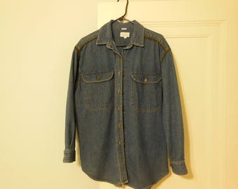 Robert Comstock western denim jacket, size 12, 18.00 with free shipping.