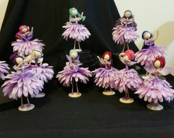 Flower Fairy Dolls Dancers