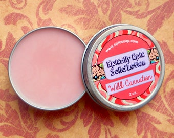 Wild Carnation Many Purpose Solid Lotion - Limited Edition Spring Scent