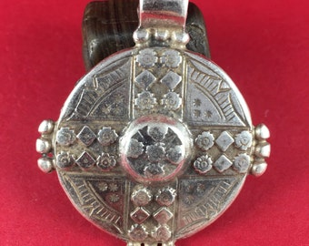 7/2 MADE IN EUROPE large pendant, zamak pendant, round pendant, large zamak pendant (7070s)Qty1