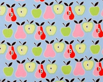 Standard/Toddler 100% Woven Cotton Day Care Cot Sheet - Apples and Pears