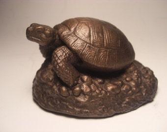 Russian Tortoise Sculpture