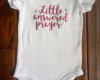 Little Answered Prayer Onesie