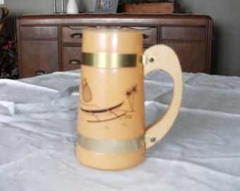 Vintage Orange Siesta Ware Mug