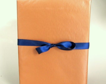 Copper Wrapping Paper, 2 x 10 ft Roll, Masculine Gift Wrap for Father's Day,