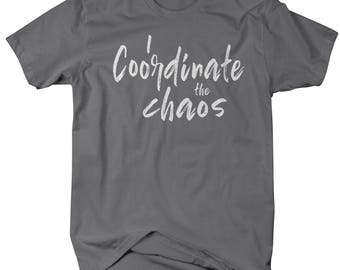 Shirts By Sarah Men's Matching Father Son Daughter T-Shirt Coordinate Chaos