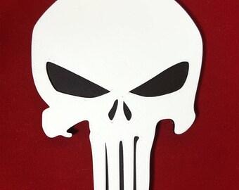 Punisher Skull Magnet Logo For Fridge / Refrigerator / Computer, Frank Castle