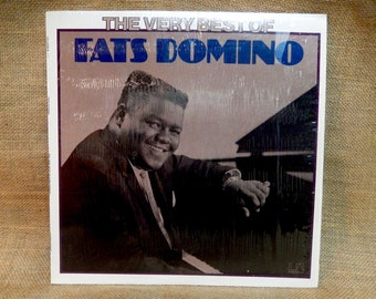 5TH ANNIVERSARY SALE...Fats Domino - The Very Best of Fats Domino - 1974 Vintage Vinyl Record Album