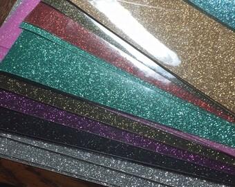 Glitter HTV, Heat transfer vinyl Glitter, Iron on glitter, non shed glitter,