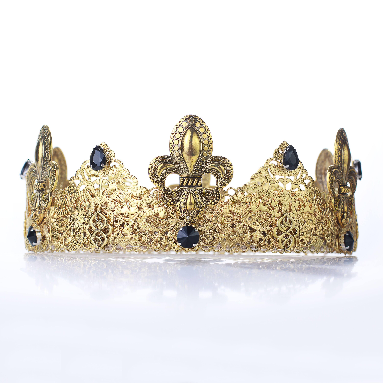 Herren-Krone königliche Krone König Krone Königin Krone