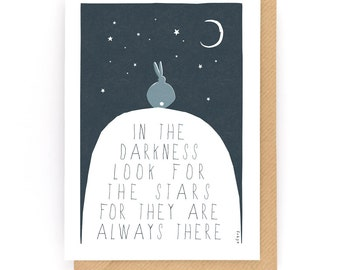 Look for the stars - Greeting Card (2-65C)