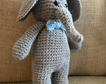 Crochet/handmade/elephant/amigurumi/stuffed/toy