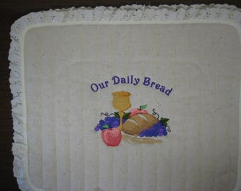 2 Slice Toaster Cover Daily Bread Design