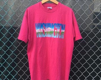 Washington State Size XL Shirt  Vintage mountains t shirt