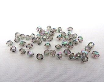 144 Paradise Shine Swarovski Crystal Beads Bicone 5328 3mm
